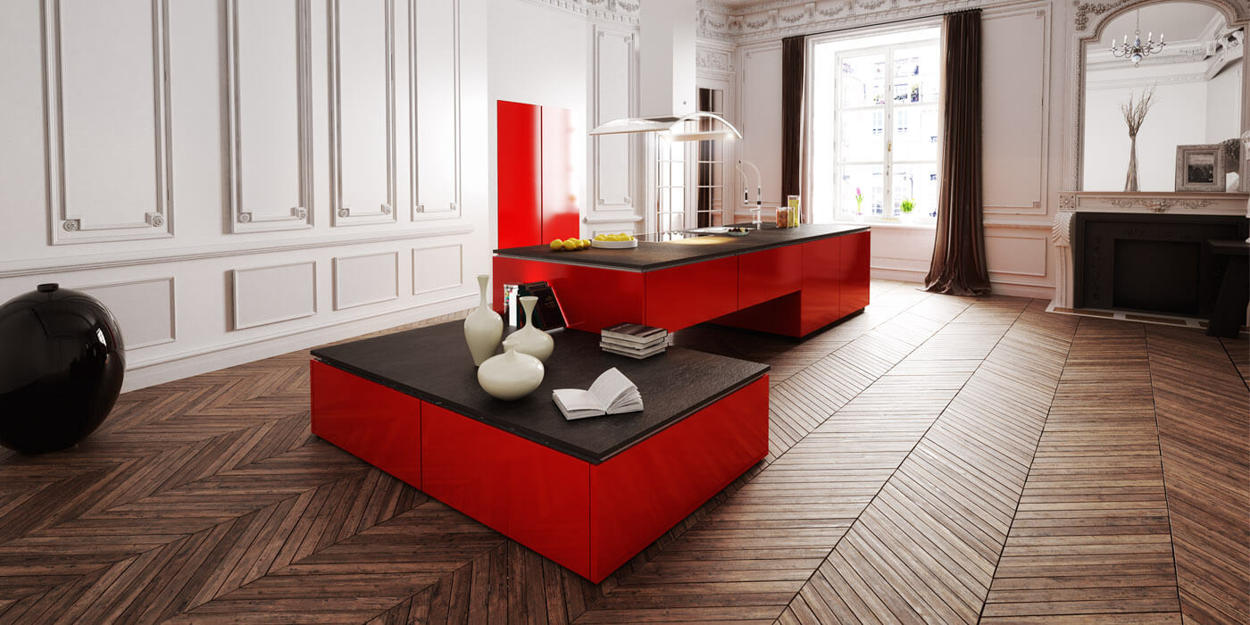 Awesome interieur cuisine moderne images amazing house for Cuisine contemporaine design