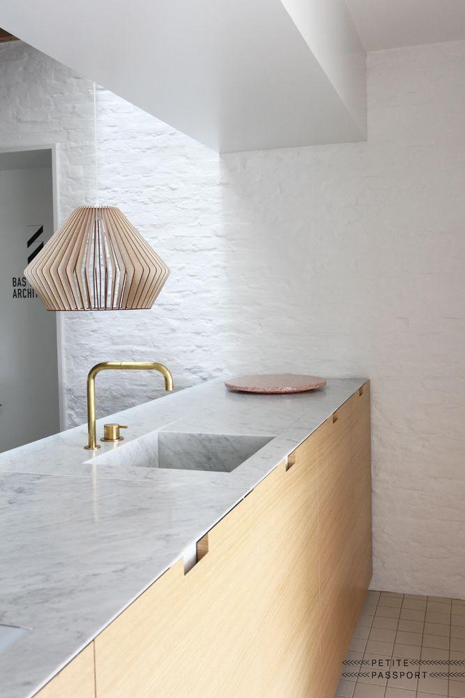 Architecture d 39 int rieur frenchy fancy - Plan de travail cuisine a faire soi meme ...