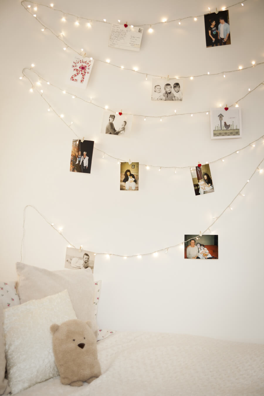 5 id es d co r aliser avec une guirlande lumineuse frenchy fancy - Decoration avec photo ...