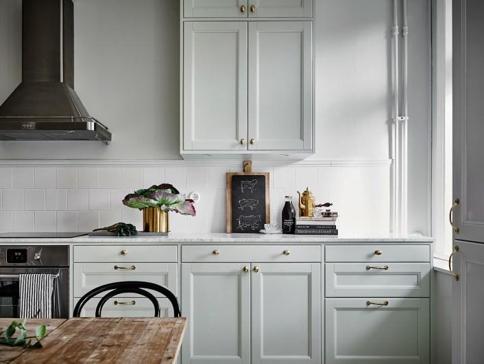 Cuisine style nordique une petite cuisine inspire par le for Cuisine ouverte nordique
