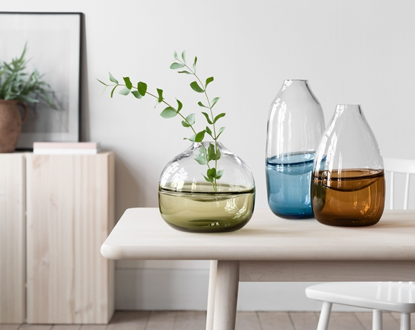 Vase design en verre