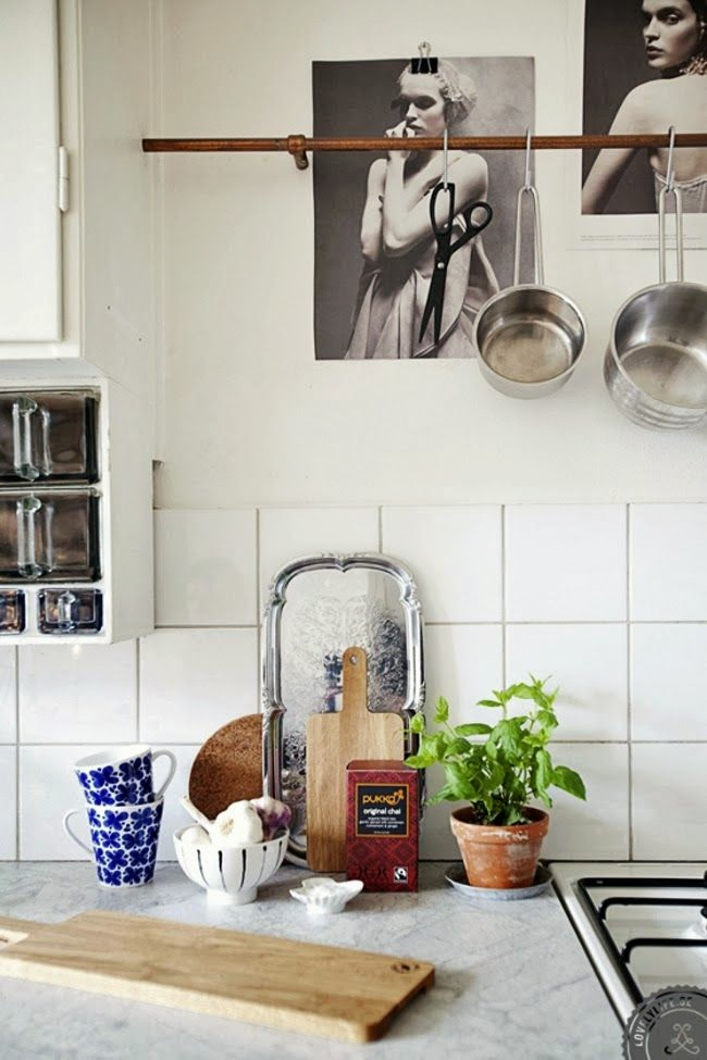 Cuisine style campagne moderne