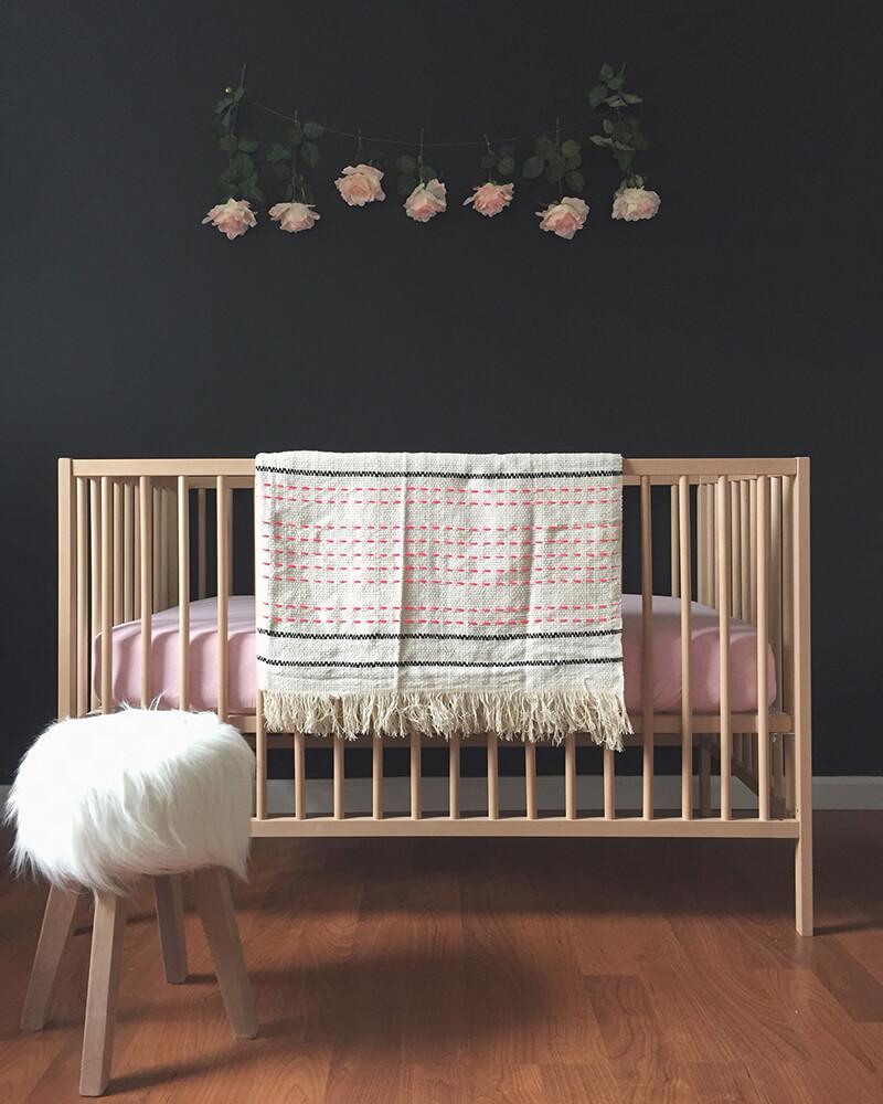 Chambre bébé style nordique