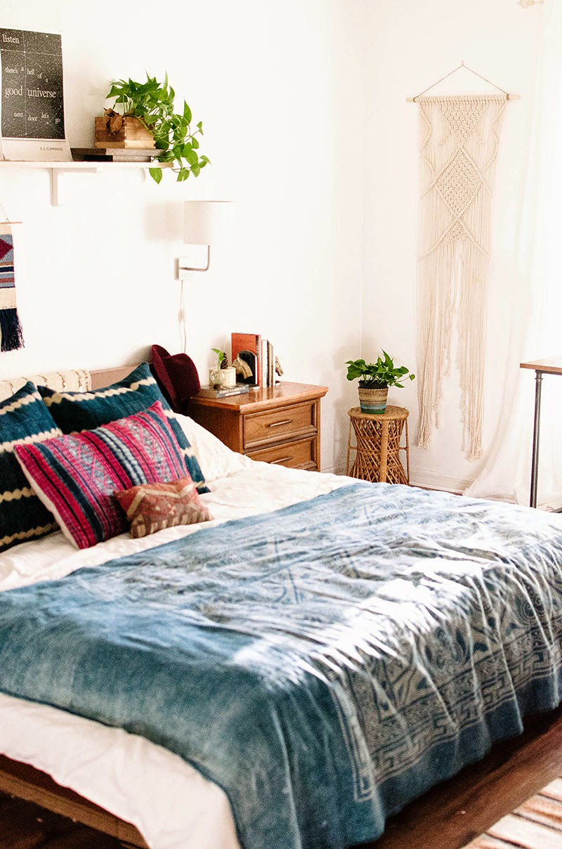 Shopping une chambre d 39 inspiration boh me for Chambre urban outfitters