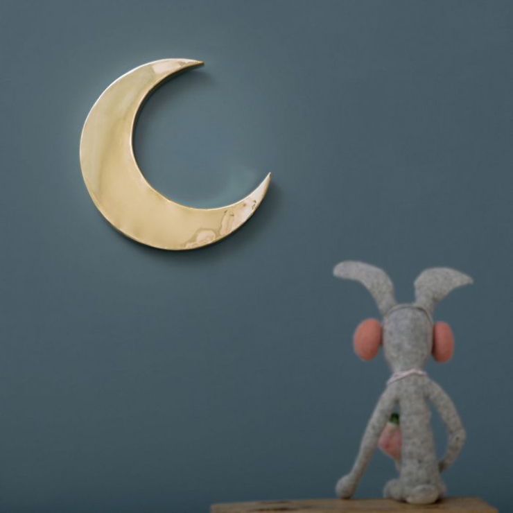 In love with : le croissant de Lune en cuivre oxydé - FrenchyFancy