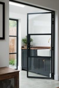 portes fenetres aluminium noir style atelier verriere frenchyfancy 5 frenchy fancy. Black Bedroom Furniture Sets. Home Design Ideas