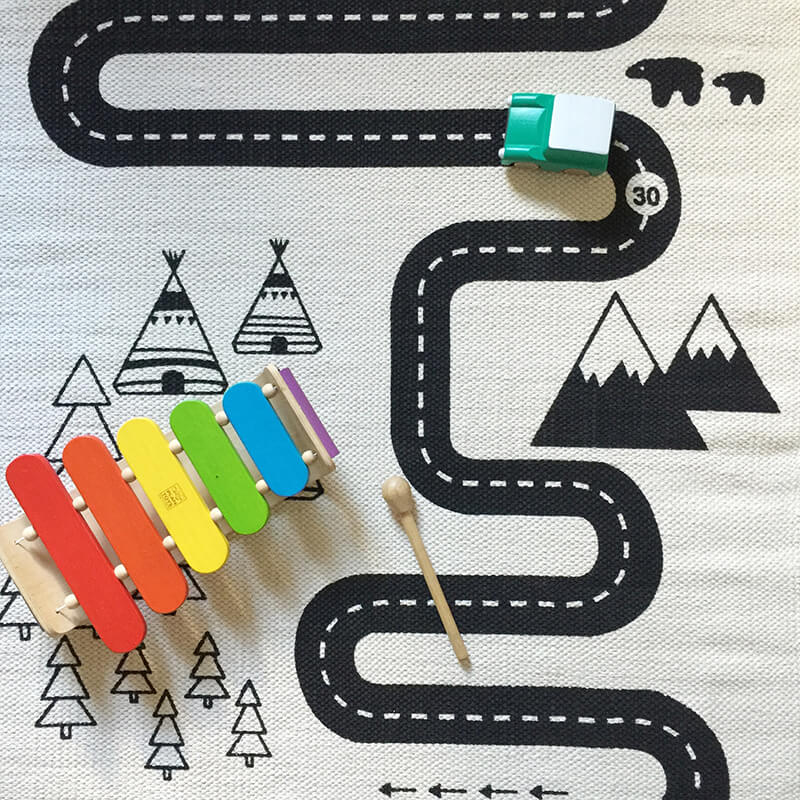 In love with : le tapis Aventure de chez Oyoy - FrenchyFancy