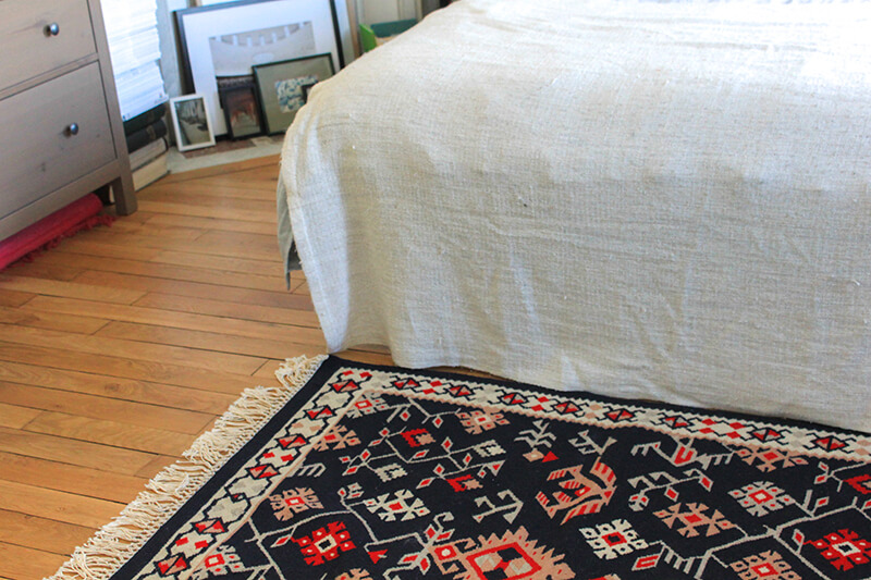 Mon tapis bulgare de chez Vitoshka