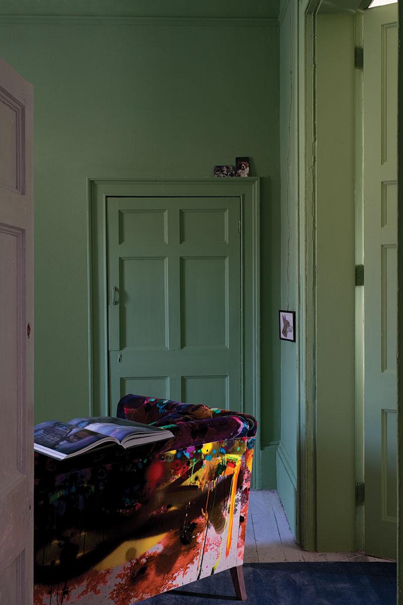 Peindre les murs en vert