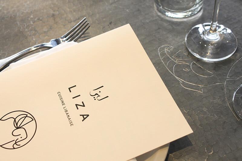 Liza, un restaurant libanais très déco à Paris