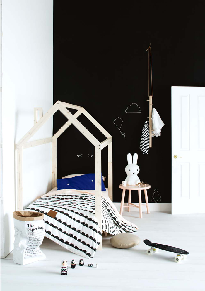 chambre enfant look noir blanc deco scandinave nordique frenchyfancy 10 frenchy fancy. Black Bedroom Furniture Sets. Home Design Ideas