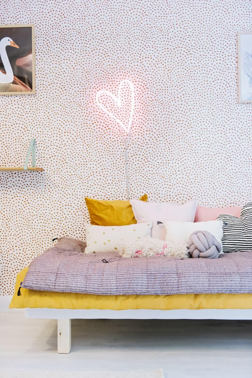 Une chambre de petite fille pleine de poésie