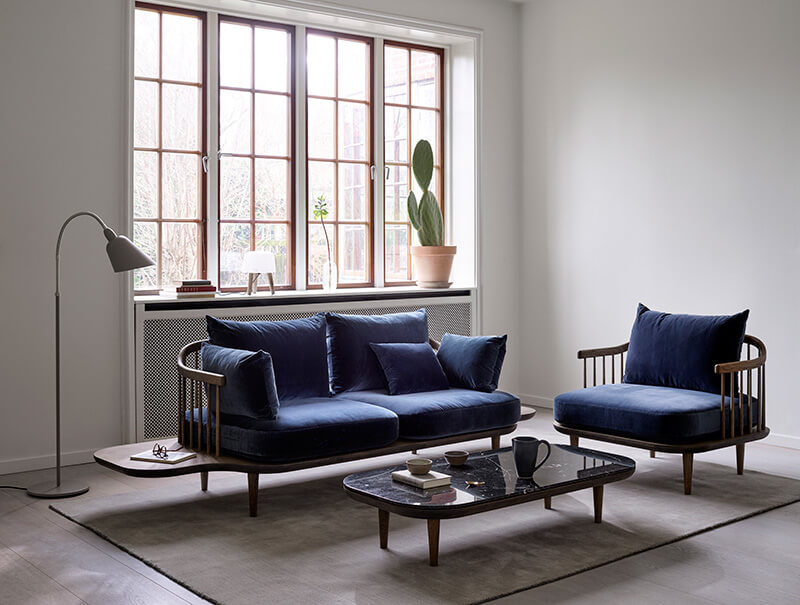 Inspiration : le bleu selon &tradition - FrenchyFancy