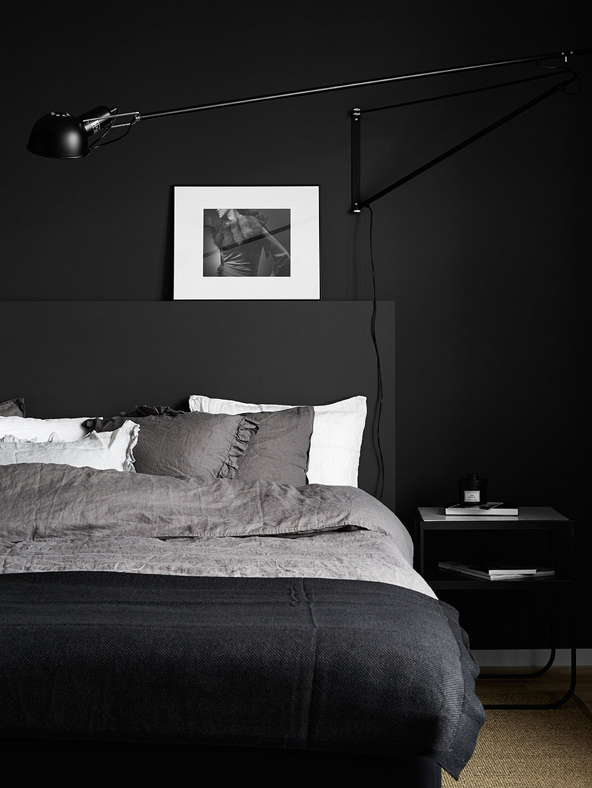 10 chambres au look noir - Frenchy Fancy