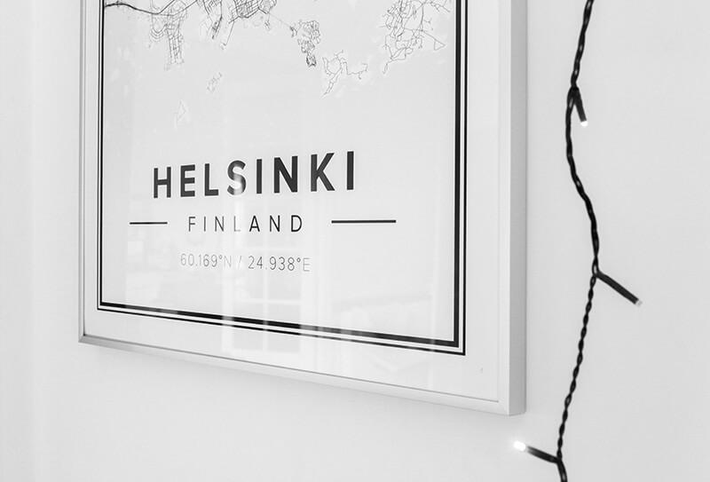 Mapiful : créez vos cartes des villes du monde dans un style scandinave