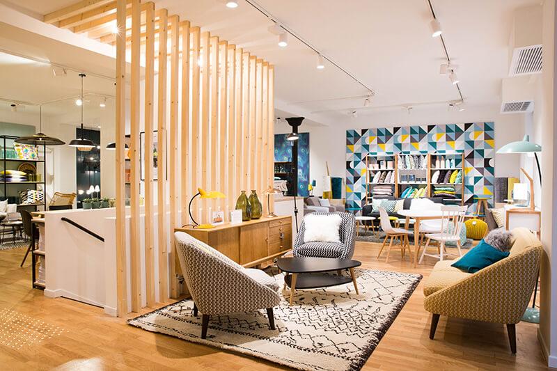 Shopping déco : La Redoute intérieurs ouvre sa première boutique à Paris