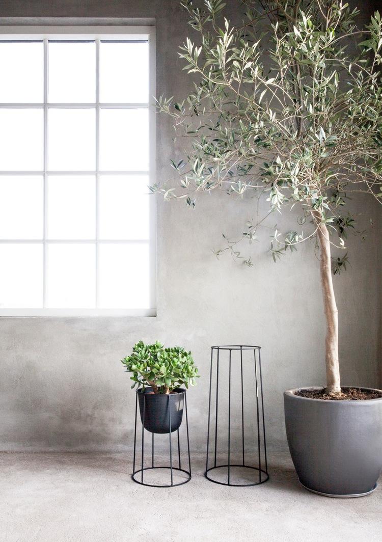 Support pour plantes vertes Menu