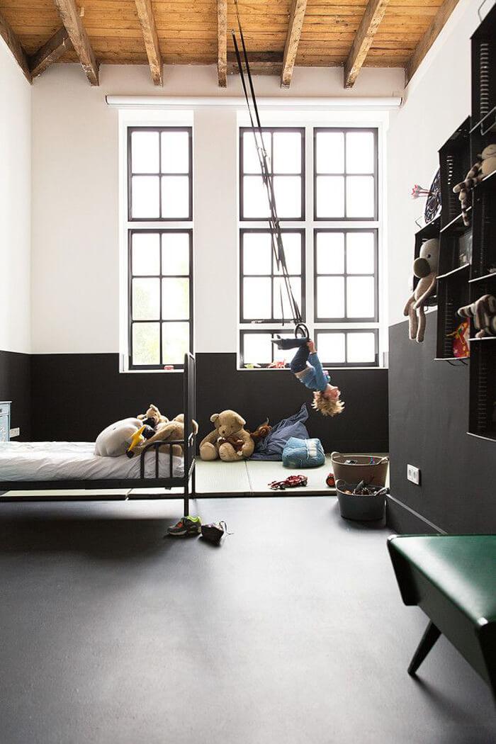 Le style industriel pour les petits mecs frenchy fancy - Chambre style loft industriel ...