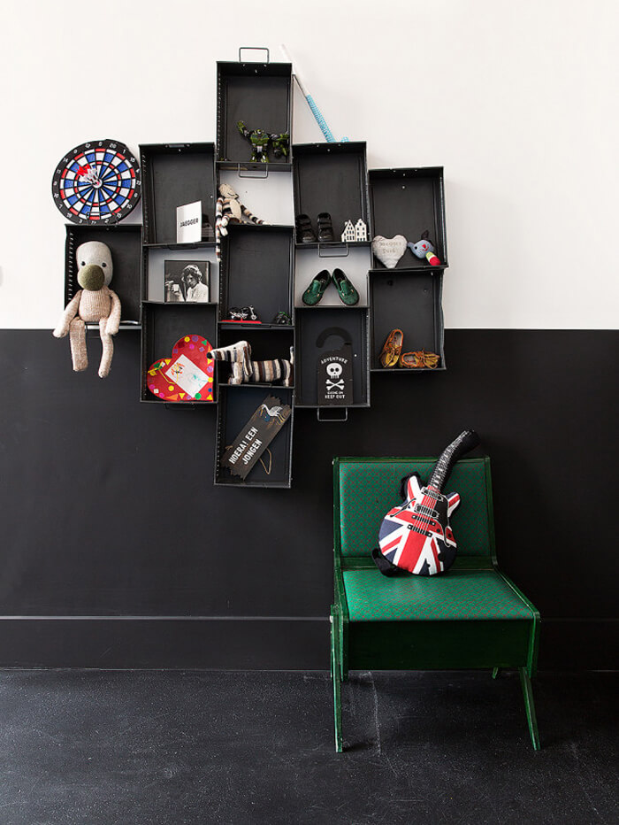 d co chambre enfant industrielle d co sphair. Black Bedroom Furniture Sets. Home Design Ideas