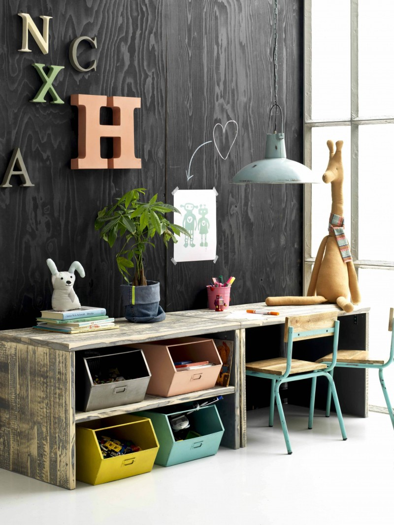 chambre style industriel chambre style industriel with. Black Bedroom Furniture Sets. Home Design Ideas