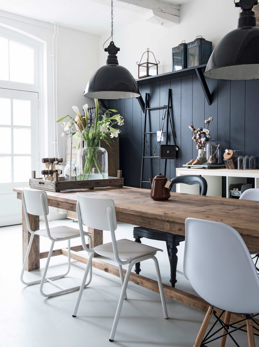 Le style campagne chic frenchy fancy for Table en bois style campagne