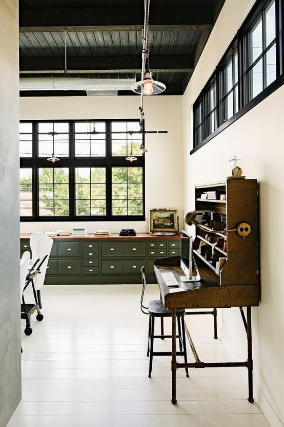 inspiration bureau style industriel loft atelier frenchyfancy 7 frenchy fancy. Black Bedroom Furniture Sets. Home Design Ideas