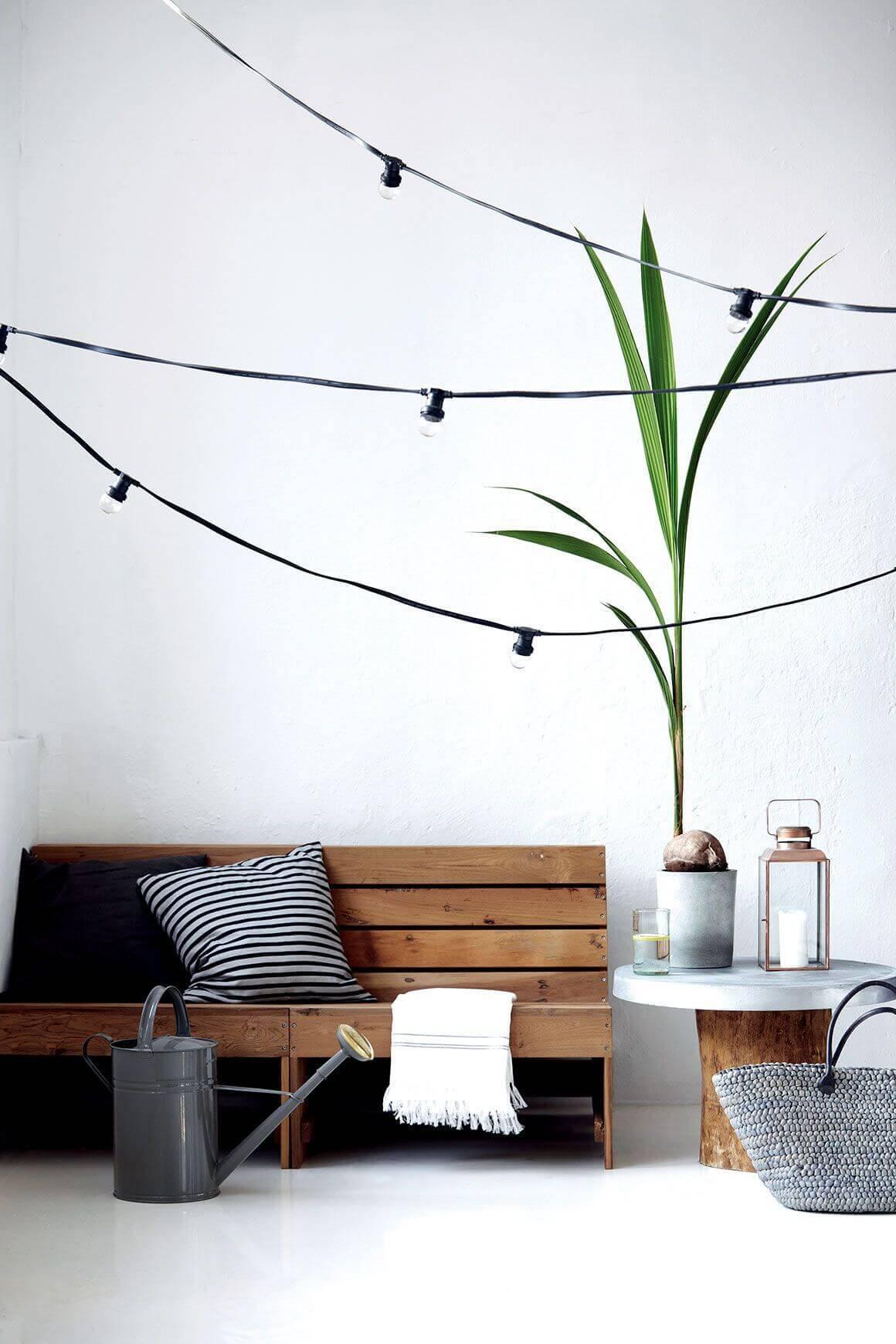 tendance la guirlande guinguette frenchy fancy. Black Bedroom Furniture Sets. Home Design Ideas