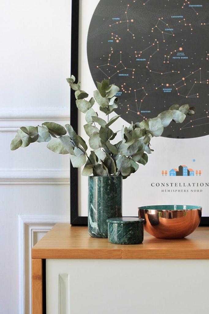 bouquet eucalyptus deco