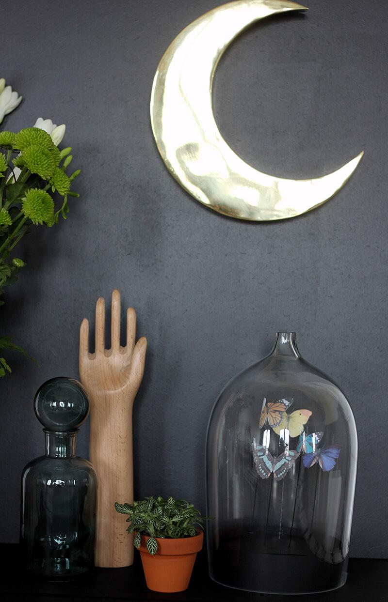 Mon petit cabinet de curiosit s frenchy fancy - Cloche de jardin en verre ...