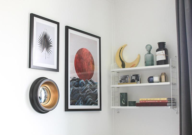 au dessus de mon canap frenchy fancy. Black Bedroom Furniture Sets. Home Design Ideas