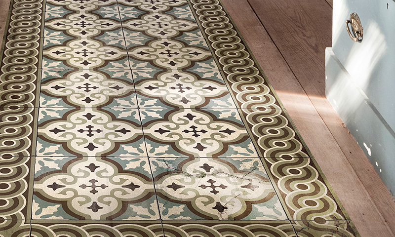 Beija flor frenchy fancy for Tapis cuisine imitation carreaux de ciment