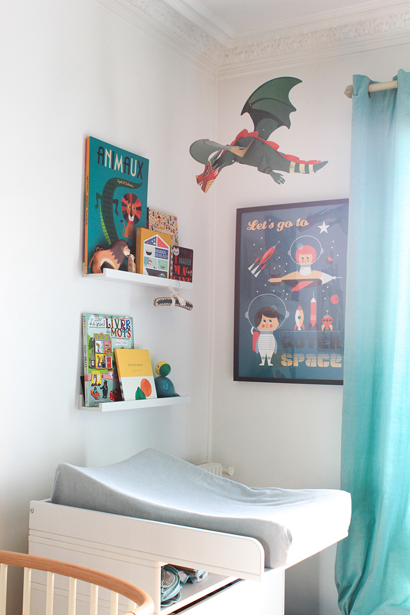 La chambre de robin 1 an apr s frenchy fancy for Decoration chambre garcon 8 ans