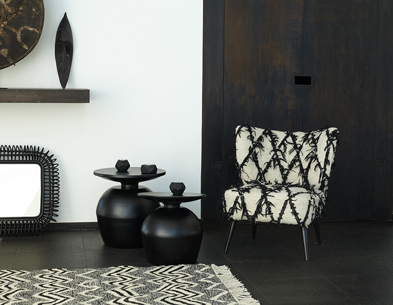 Bout de canapé moderne