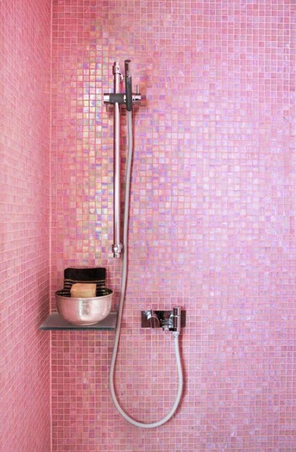 Salle de bain girly