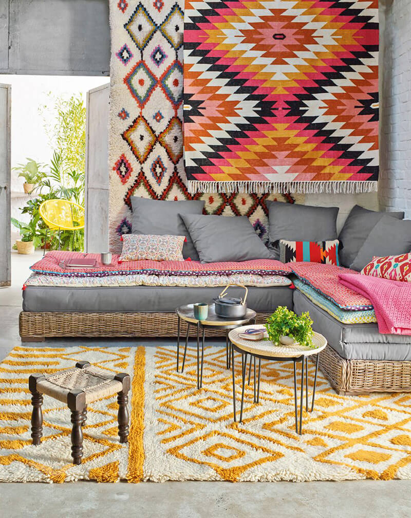 Berb Re Kilim Frenchy Fancy