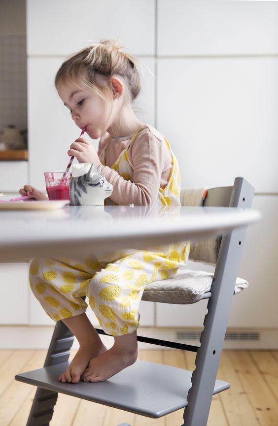 Du design pour les kids : la chaise Tripp Trapp de chez Stokke