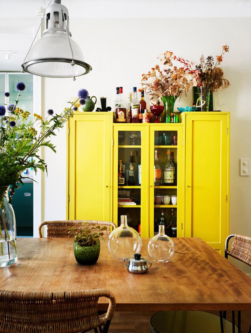 Yellow frenchy fancy - Decoration salon jaune moutarde ...