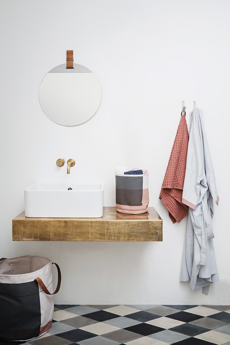 salle de bain style scandinave