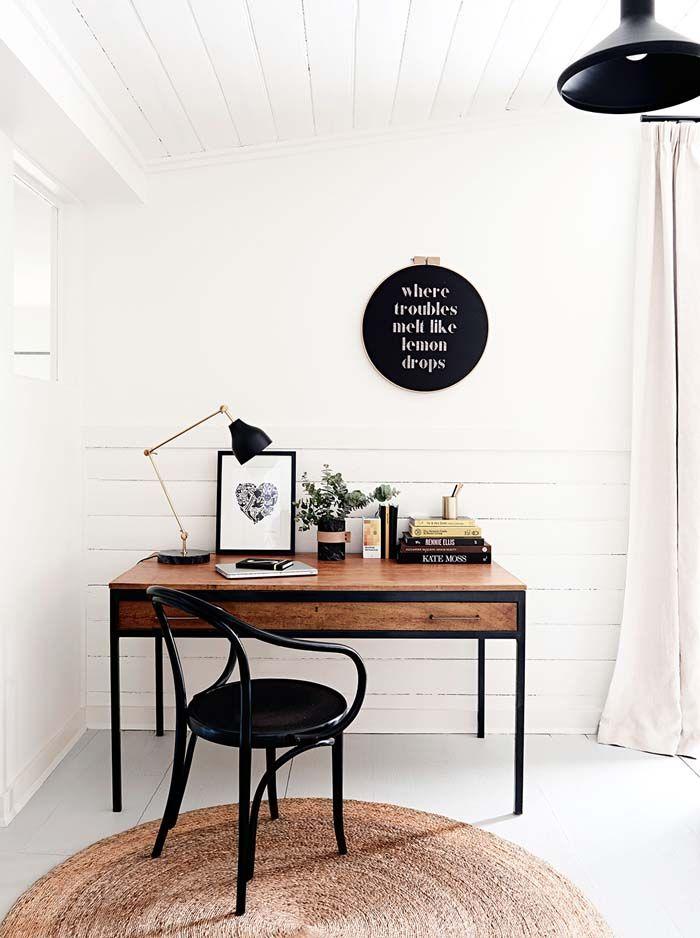 10 bureaux qui donnent envie de travailler frenchy fancy. Black Bedroom Furniture Sets. Home Design Ideas