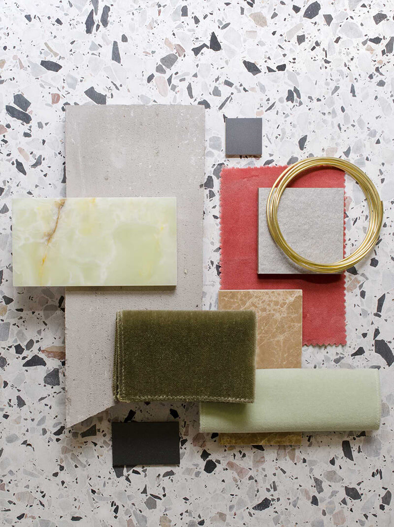 Salle De Bain Blanc Gris Et Noir ~ Le Terrazzo Son Style Graphique Et Ses Jolies Couleurs Frenchy Fancy