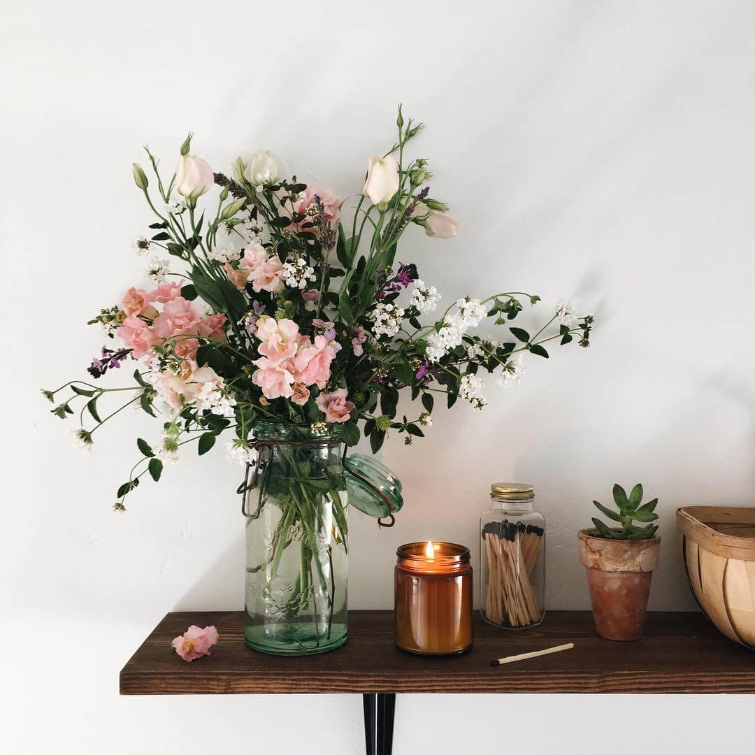 12 bouquets de fleurs inspirants pour la maison frenchy for Bouquet de fleurs 2016