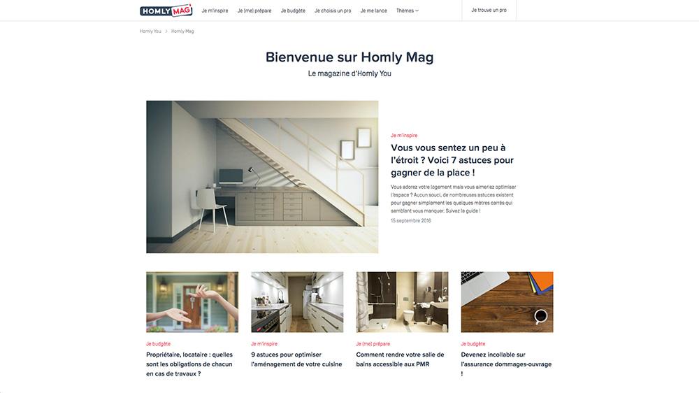 Homly you, le service de mise en relation en particuliers et professionnels - FrenchyFancy