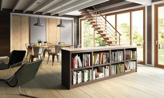 Avoir de jolies portes de placards frenchy fancy - Petit appartement dote dun confortable espace de rangement ...