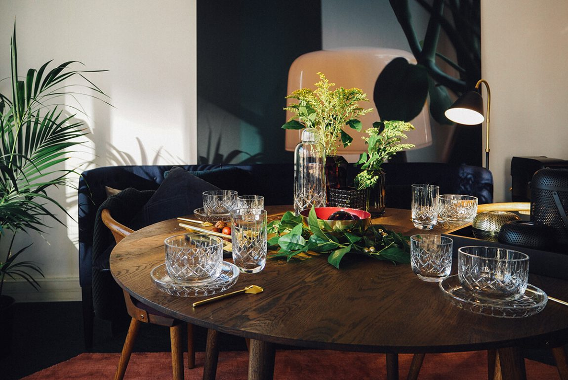 Ma table de no l pour louise roe copenhagen frenchy fancy for Table inspiration scandinave