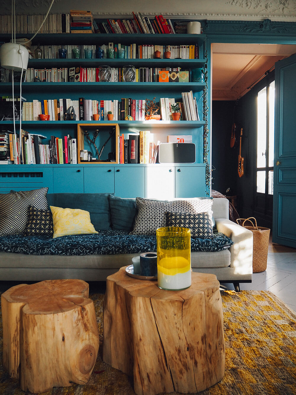 Appartement avec moulures