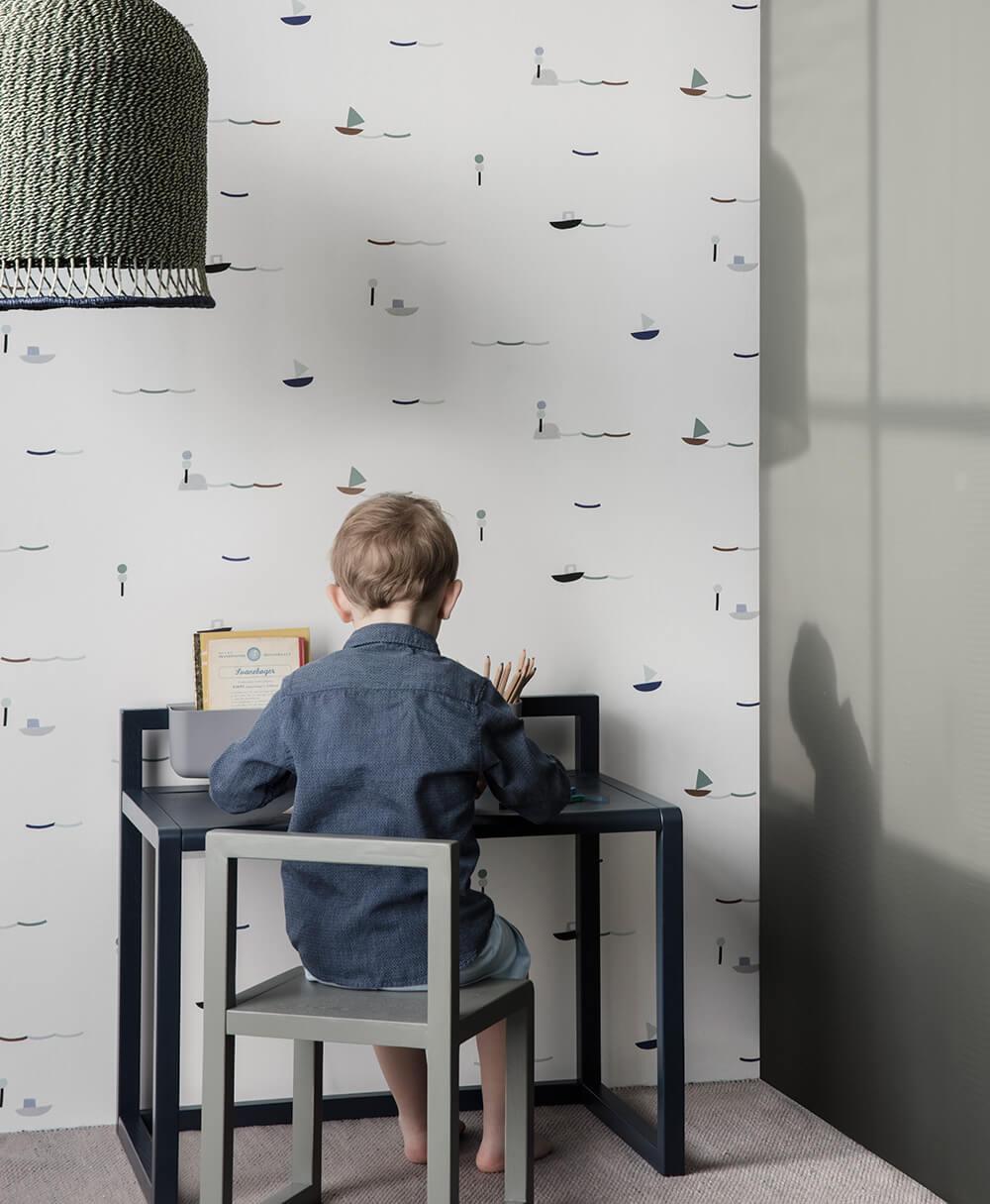 papier peint ferm living