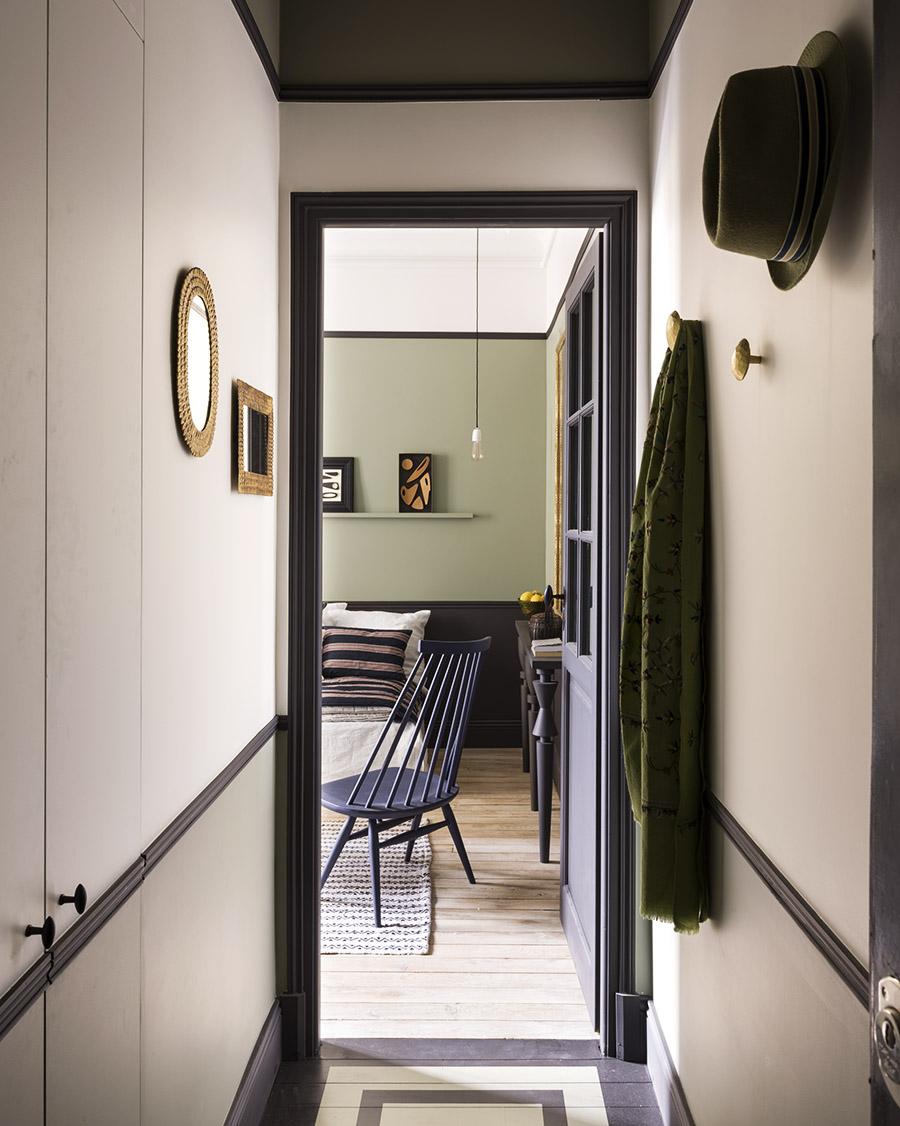 Un petit appartement parisien très chaleureux