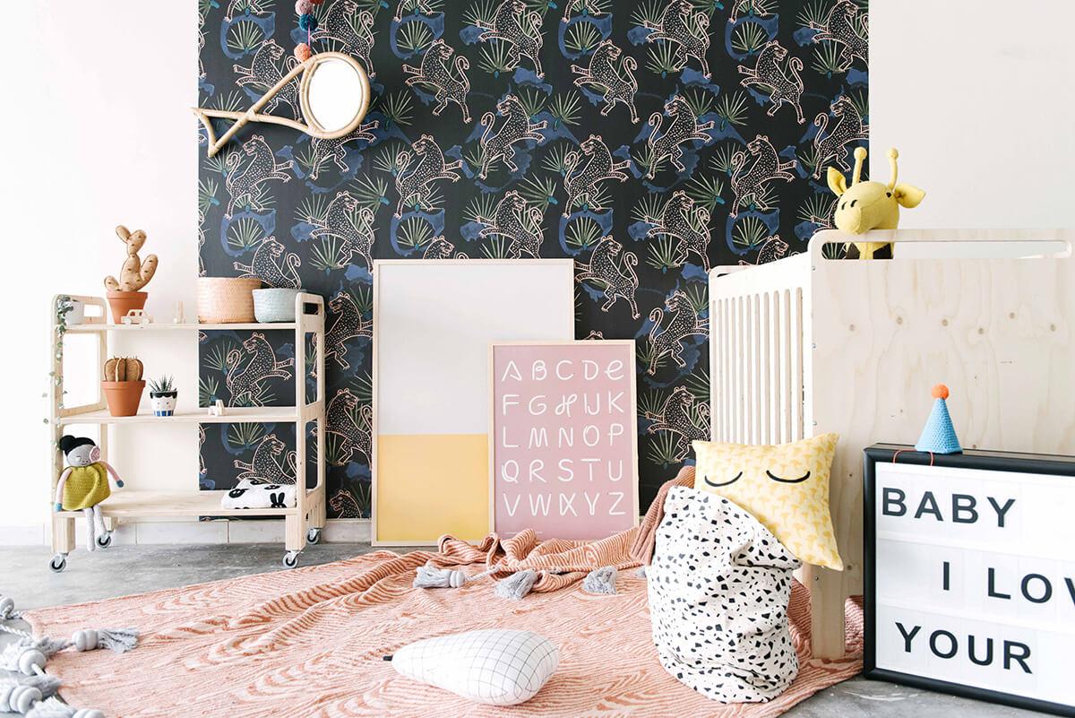 Deco Jungle Chambre Enfant une chambre d'enfant esprit jungle - frenchy fancy