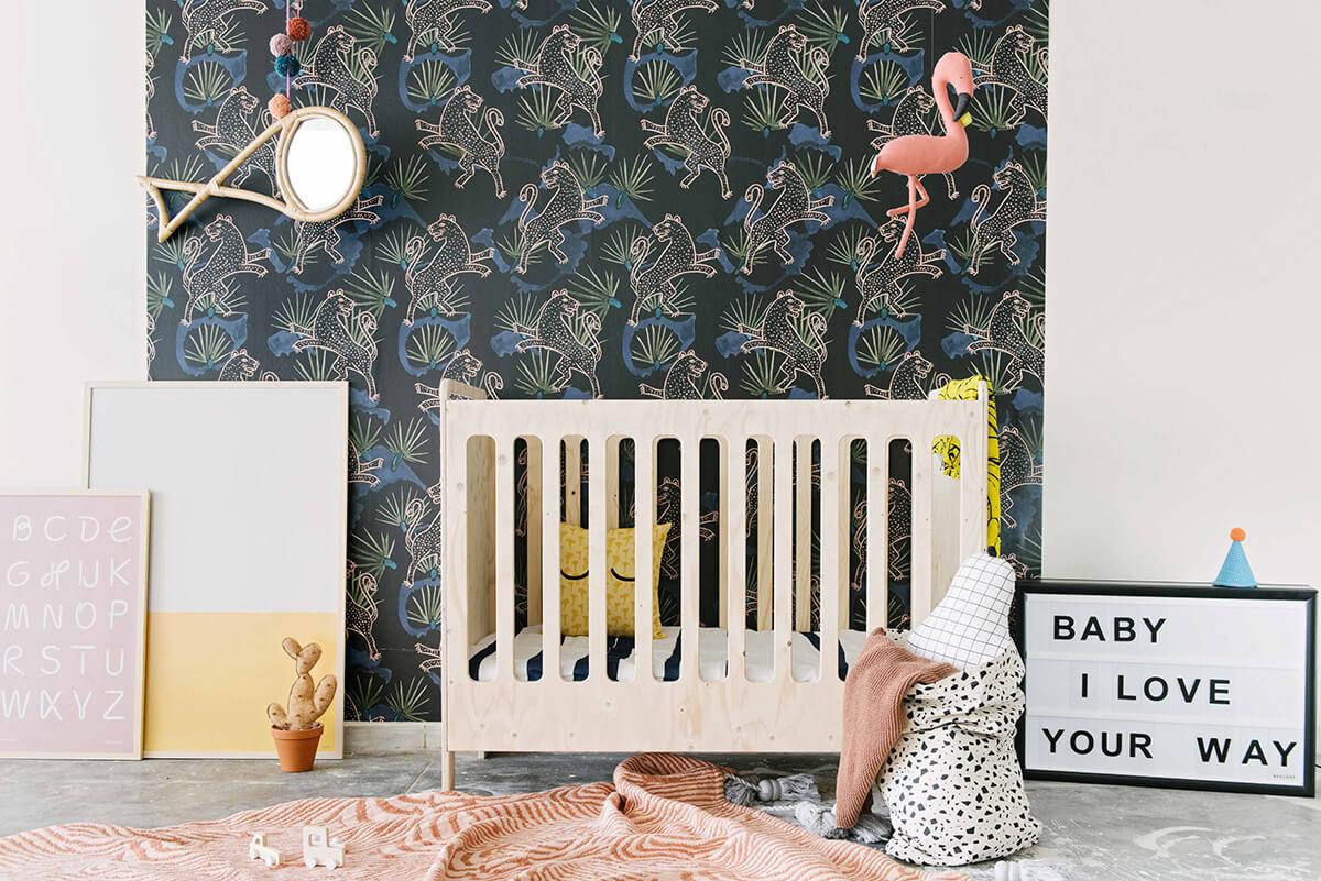Une chambre d 39 enfant esprit jungle frenchy fancy - Deco chambre jungle ...