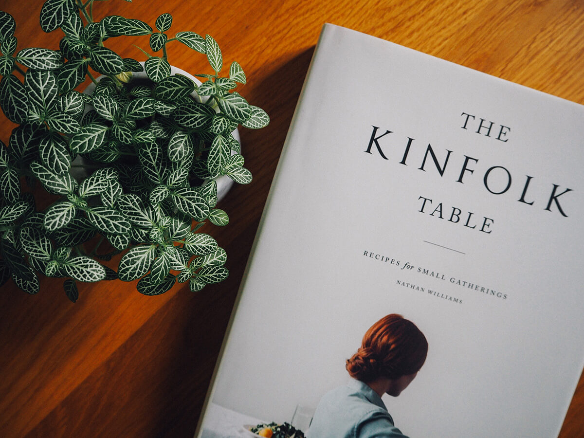 Livre table Kinfolk